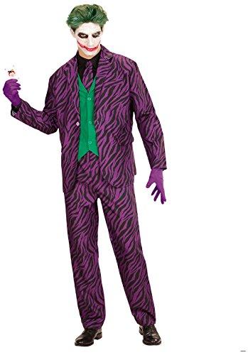 WIDMANN Evil Joker per Adulti, L, VD-WDM19313