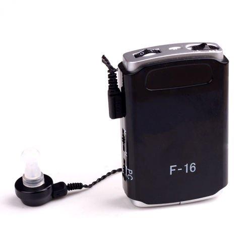 Axon F 16 Pocket Model Hearing Aid (Black)