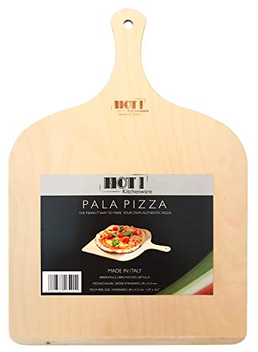 HOT! Kitchenware Pala para Pizza | Madera de Abedul | 100% Made in Italy