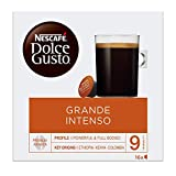 NESCAFÉ DOLCE GUSTO Americano Intenso Coffee Pods, 16 capsules (Pack of 3 - Total 48 Capsules, 48 Servings)