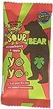Bear Fruit Yoyo Super Sour Strawberry Apple 18 x 20g