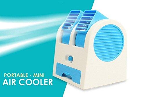 Bulfyss Mini USB Fragrance Air Cooling Fan - Assorted Color