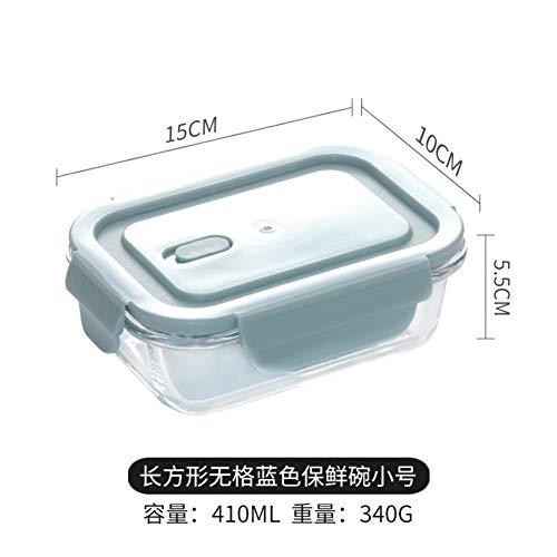 YHCIDNJ Bento Box,portaacqua al Forno A Microonde Borosilicate Glass Lunch Box Conservazione del...