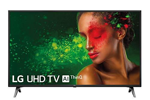 """LG 43UM7100ALEXA - Smart TV UHD 4K de 109 cm (43"""") con Inteligencia Artificial, Procesador Quad Core, HDR y Sonido Ultra Surround, color negro"""