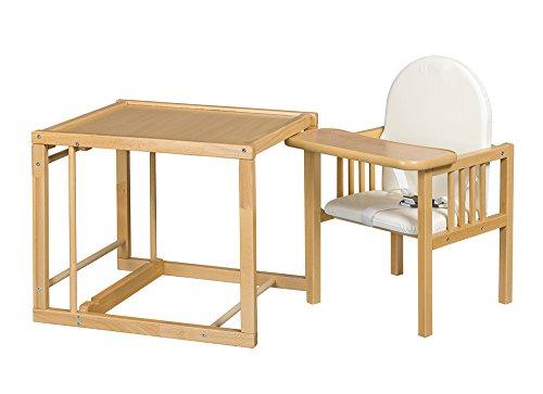 Best For Kids-Seggiolone Combinato Victoria-Leggero convertibile da sedia da tavolo di combinazione High Quality