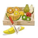 Melissa & Doug- Set Frutas Madera para Cortar (14021)