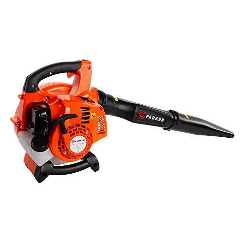 The Parker PBV-2600 26cc 3 in 1 Petrol Leaf Blower is one whose prices are fair on your pocket and the quality is manageable. The 26cc 2-stroke engine model gives an energy output of approximately 1HP / 0.70kW.