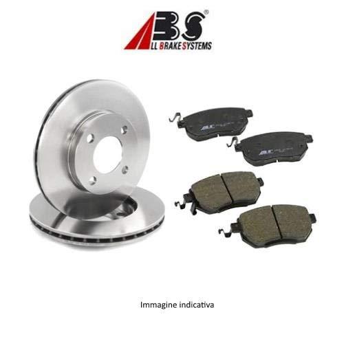 Kit 2 dischi freno anteriori + Kit 4 pastiglie freno anteriori ECP (Abs) Ecommerceparts 9145375032476