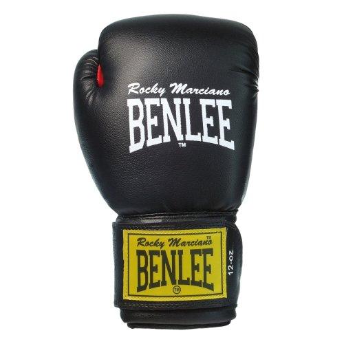 BenLee Rocky Marciano Fighter - Guante de boxeo (cuero) negro negro Talla:10 oz