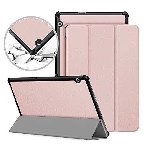 VAGHVEO Custodia Cover per Huawei MediaPad T5 10, Slim Smart Case Protettiva Pelle PU Stand Flip...