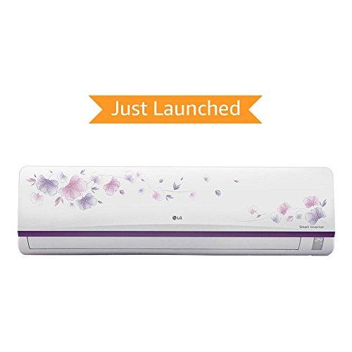 LG 1 Ton 3 Star Inverter Split AC (Alloy, JS-Q12AFXD, White) with free standard installation worth Rs. 1500*
