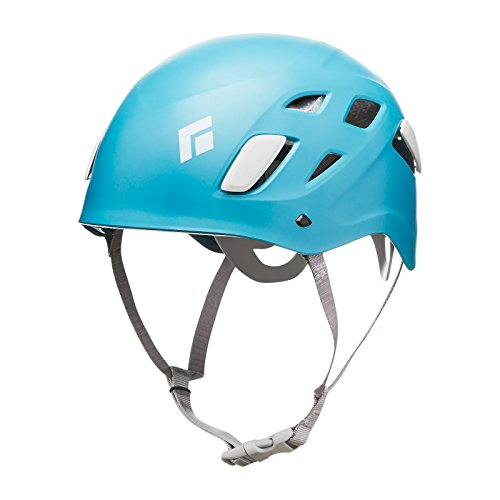 BLACK DIAMOND WOMENS HALF DOME CLIMBING HELMET CASPIAN (SMALL/MEDIUM)