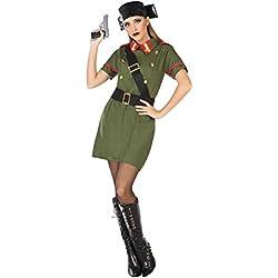 Atosa-54682 Disfraz Guardia Civil Color Verde M-L (54682