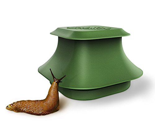 SnailX - Set completo per trappola per lumache, per un'efficace eliminazione delle lumache, con esca liquida