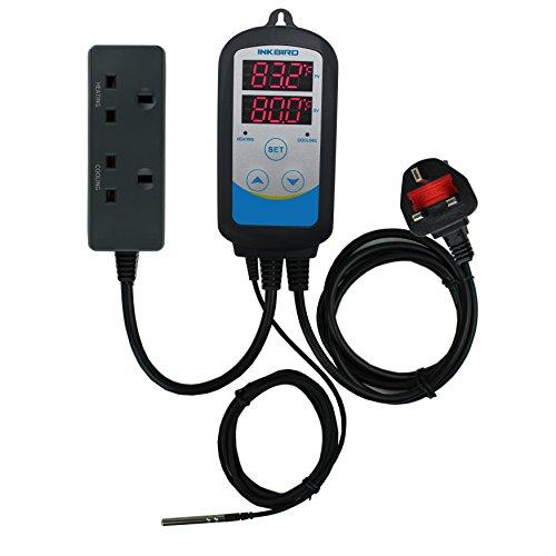Inkbird ITC-310T, termostato, controller della temperatura e timer digitale programmabile, 220V,...