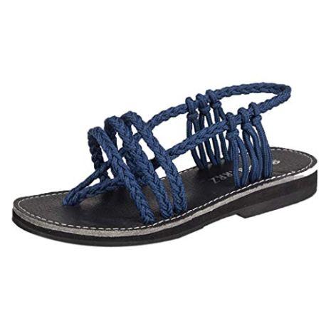 327d91cce4828 OHQ Sandales❤ ❤️Femme BohèMe D éTé Femmes Chaussures Peep-Toe ...