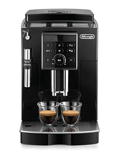 De\'Longhi ECAM 25.120.B Kaffeevollautomat   Direktwahltasten und Drehregler   Profi-Aufschäumdüse   2-Tassen-Funktion   Kegelmahlwerk 13 Stufen   Herausnehmbare Brühgruppe   schwarz