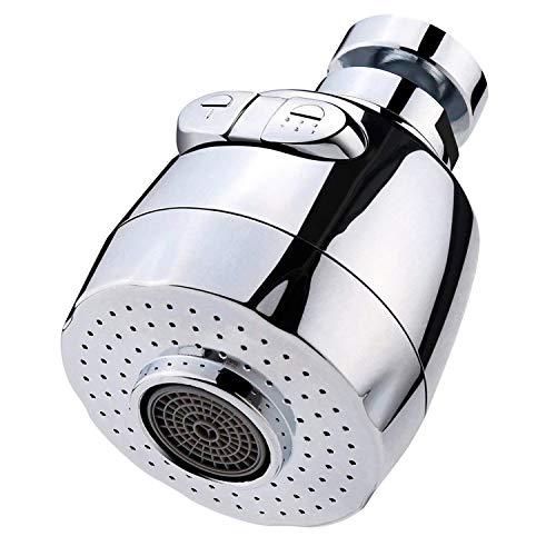 SODIAL 360 Grados Rotativo Aireador Aireador De Grifo De Ahorro De Agua para Cocina Aireador De Grifo Filtro De La Boquilla del Grifo Adaptador Burbujeador para Casa