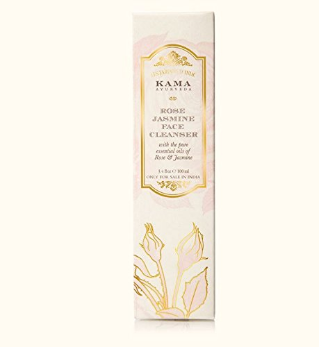 Kama Ayurveda Rose and Jasmine Face Cleanser with the Pure Essential Oils of Rose and Jasmine, 100ml 9