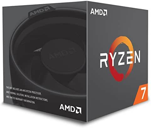 AMD Ryzen 7 2700 Prozessor (Basistakt: 3.2GHz, 8 Kerne, Socket AM4) YD2700BBAFBOX