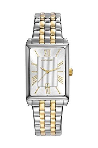 Pierre Cardin Orologio da polso orologio da donna luenette orologio PC-Belneuf - analogico orologio con datario, argento cinturino in acciaio inox e quadrante argentato - 30 m/3atm - PC107212F14