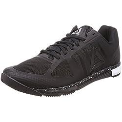 Reebok Speed TR, Chaussures de Fitness Homme, Noir (Black/White 000), 44.5 EU