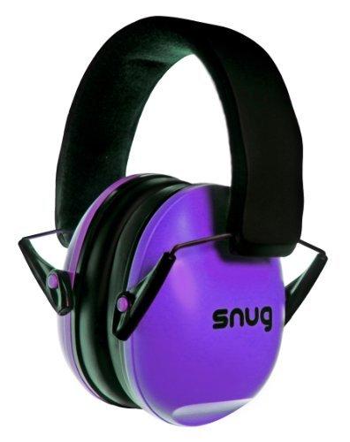 Snug Safe n Sound Niños orejeras / Protectores auditivos - Orejeras diadema ajustable para Niños y Adultos (Púrpura)