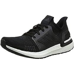 adidas Ultraboost 19 M, Zapatillas de Running para Hombre, Negro Core Black/FTWR White, 44 EU