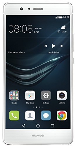 "Huawei P9 lite - Smartphone de 5.2"" (4G, 3 GB RAM, 16 GB, cámara de 13 MP, Android 6 Marshmallow), color blanco [versión europea]"