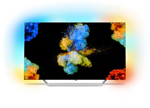Philips 55POS9002/12 139 cm (55 Zoll) LED-Fernseher (Ambilight, OLED 4K Ultra HD, Android TV)