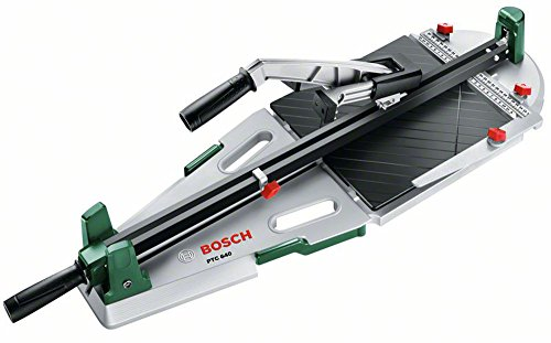 Bosch Fliesenschneider PTC 640 (Fliesenstärke: 12mm, Schnittlänge: 640mm, Diagonalschnittlänger:...