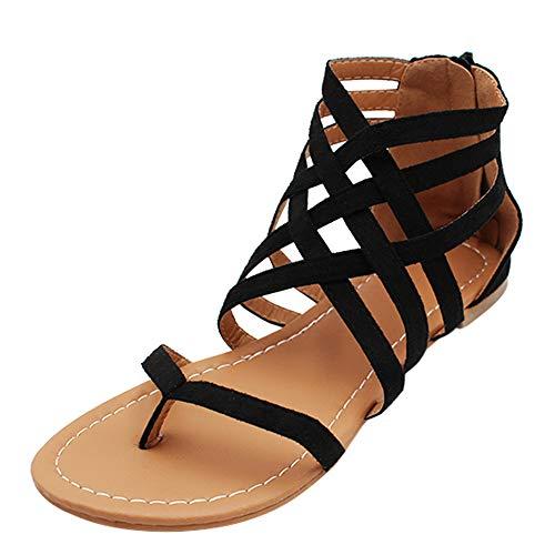 uirend Scarpe da Donna Sandali - Infradito Estive Clip Toe Boemia Casuale Fasciatura Piatte Shoes...