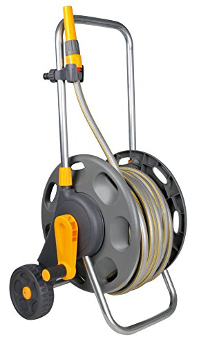 hozelock 60m hose cart with 50m hose review