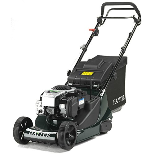On the higher price end, we have this Hayter Harrier 41 Autodrive Variable-Speed Rear-Roller Lawnmower. It comes with a 190cc Briggs & Stratton 625E Series OHV engine, which delivers sufficient amounts of power no matter how thick or long the grass in your lawn is.