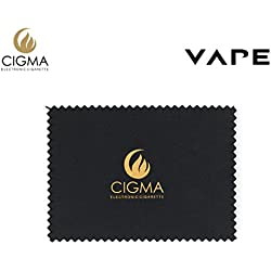Cigma E Liquid Cleaning Cloth | Specially Created To Absorb E Liquid | Clean your E Cigarette and Bottle Leaks | Re-Usable