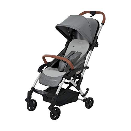 Bébé Confort Laika 1 Passeggino Leggero Compatto, Reclinabile e Richiudibile con 1 Sola Mano, 0 Mesi - 3.5 Anni, Nomad Grey