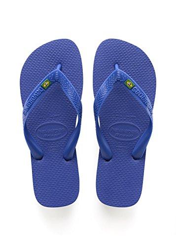 Havaianas Brasil, Infradito Unisex Adulto, Blu (Brasil Logo Marine Blue), 35/36 EU [33/34 Brazilian]