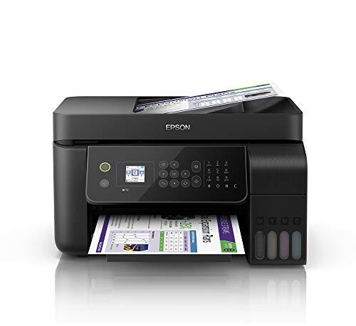 Epson EcoTank ET-4700 Stampante Multifunzione Inkjet a Colori 4 in 1 con Funzionalità ADF ed...