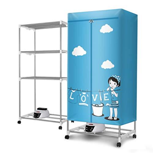 GYJ Asciugacapelli per capienti di Grande capacità, 1300W Silent Quick-Drying Warm Air Dry Dry Rack...