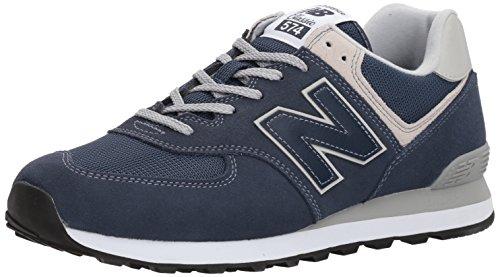New Balance Herren 574v2 Core Sneaker, Blau (Navy), 43 EU