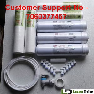 Luzon Dzire 1 Year Complete Service Kit For RO Water Purifier Kent/Dolphin,Aquagrand