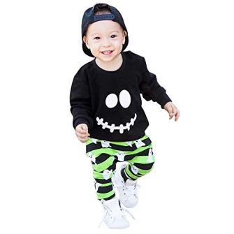 Ropa-para-Bebe-2018-Nios-Nias-Otoo-Invierno-de-Manga-Larga-Camiseta-y-Pantalones-Cortos-Ropa-Conjunto