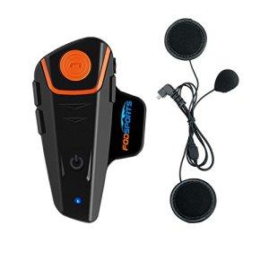 Fodsports BT-S2 1000m Motorrad Helm Intercom und Bluetooth Gegensprechanlage 2