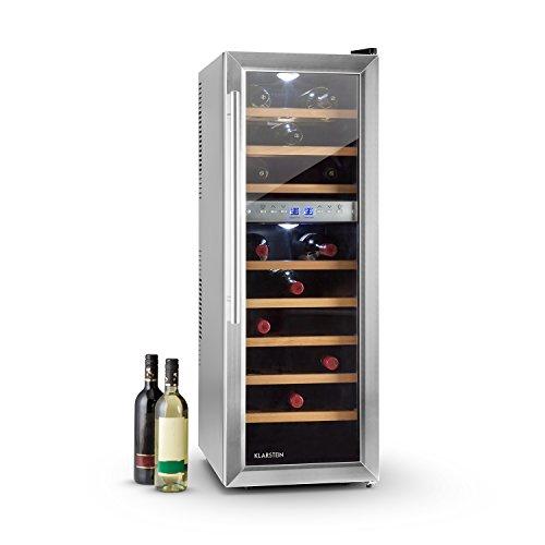 Klarstein Reserva 27D • Cantinetta Vino • frigorifero per vini • 27 bottiglie • 2 zone...