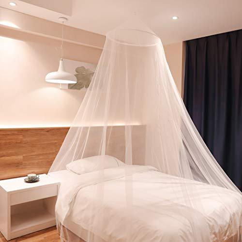 Sekey 60x220x850 cm Moskitonetz Für Einzel- und Doppelbette   Moskitonetz Bett   Mesh Insektennetz   Mückenschutz   Insektengitter   Schnelle und Einfache Installation, Betthimmel Baldachin