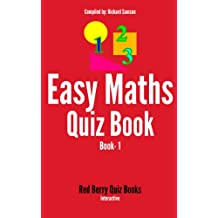 Easy Maths Quiz Book: Book 1