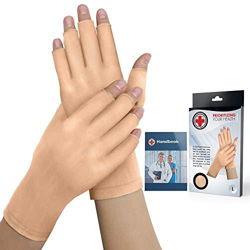 Guanti a compressione (nude) ideati da medici e manuale medico - Sollievo da malattie articolari,...