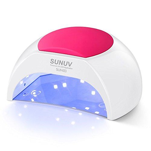 Lampada Unghie UV LED da 48W Manicure/Pedicure LED per Smalti in Gel,in Automatico Sensore Lampada...