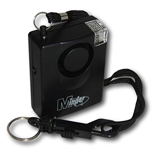 EPOSGEAR Extrem Laute 143dB Persönlichen Angriff Vergewaltigung Taschenalarm Alarm mit Gürtelclip und Befestigungswinkel (mit Taschenlampe Strobe, ohne Ersatzbatterie)