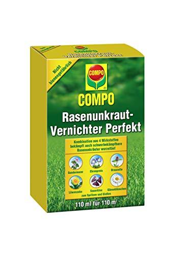 Compo Césped herbicida Malas Hierbas de vernichter 110ml, Verde